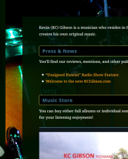 KC Gibson – Musician
